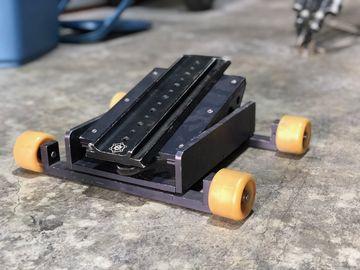 Rent:  Rocker Wedge on skate wheels (table/floor/low dolly)