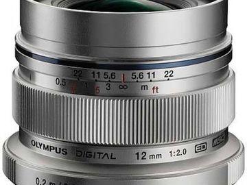 Rent:  Olympus M.Zuiko Digital ED 12mm f/2 Lens M4/3