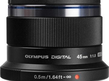 Rent: Olympus M.Zuiko Digital 45mm f/1.8 Lens M4/3