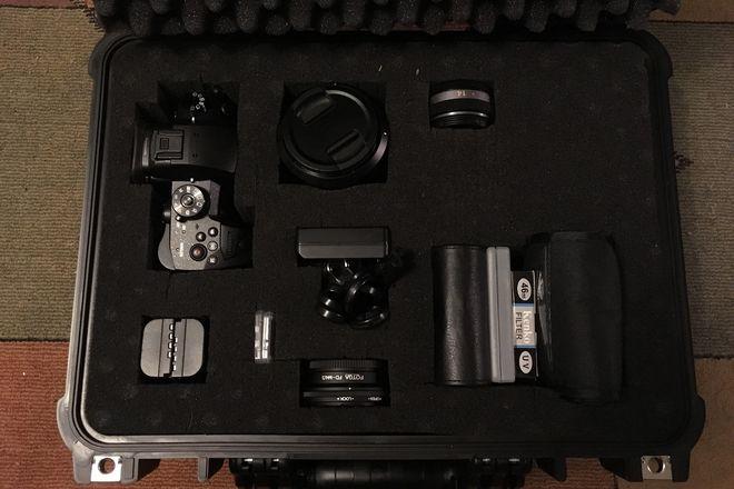 Panasonic Lumix DC-GH5 Digital Camera w/ Lumix 12-60mm &14mm