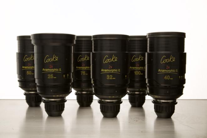 (2) Cooke Anamorphic/i Lens Set