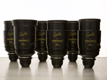 Rent: Cooke Anamorphic/i (Pick 2 Lenses)