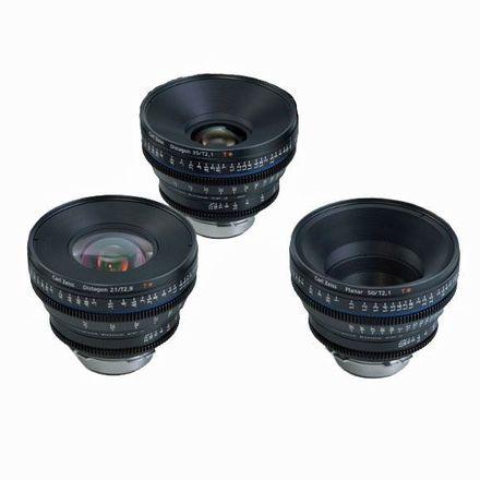 Zeiss  Compact Prime CP.2 Lens Set