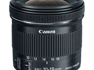 Rent: Canon EF-S 10-18mm f/4.5-5.6 USM