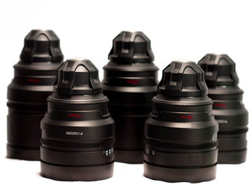 Rent: RED PRO PRIMES T1.8 (Any 3 of 6; 18, 25, 35, 50, 85, 100)