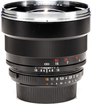 Telephoto Zeiss ZF.2 Prime Lens - 85mm F1.4 Duclos Cine Mod