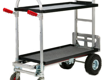 "Rent: 36"" Magliner 2 Shelf Camera Cart"
