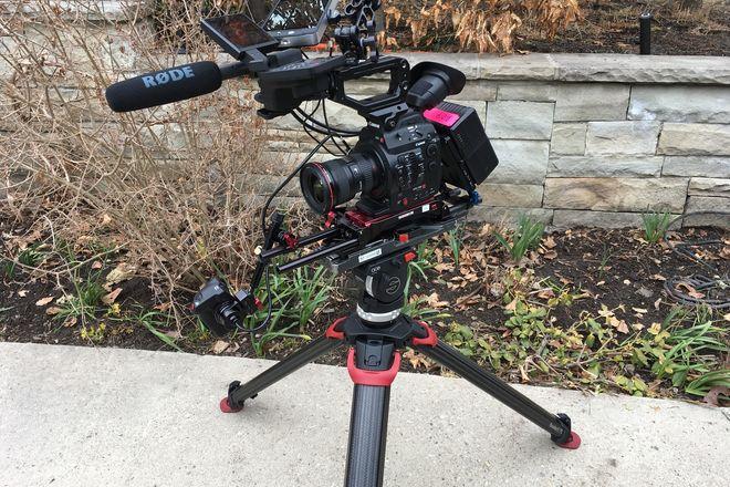 Canon C300 Mark II Documentary Pkg w/ V-Mount Batteries