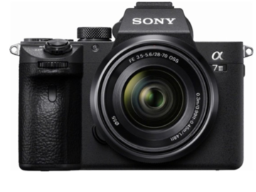Rent: Sony a7iii with 28-70 lens