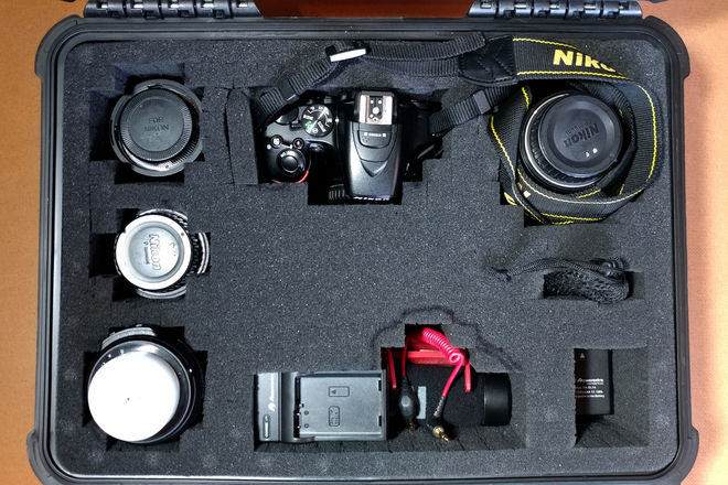 Nikon D5500 with Full Lens Kit & Mic