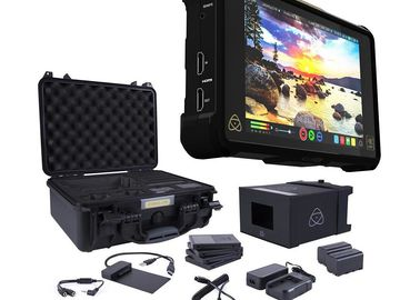 Rent: Atomos Shogun Inferno 7-in 4K Recorder + 256GB SSD + Kit