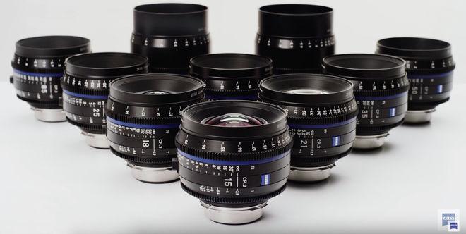 ZEISS CP3 XD Full-Frame PL Lens Set/6