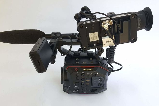 Complete camera package: Panasonic EVA1  Cinema Camera