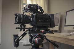 Rent: Ursa Mini 4.6k EF with shoulder kit, viewfinder
