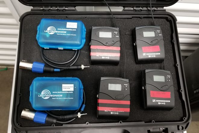 Sennheiser ew 100 ENG G3 Wireless Kit SET OF 2