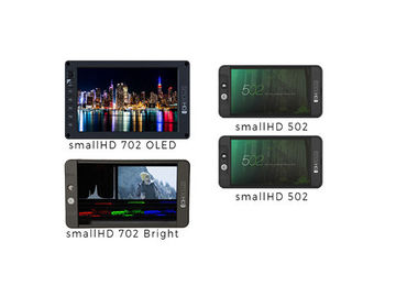 Rent: x4 smallHD Monitors (702, 702, 502, 502)
