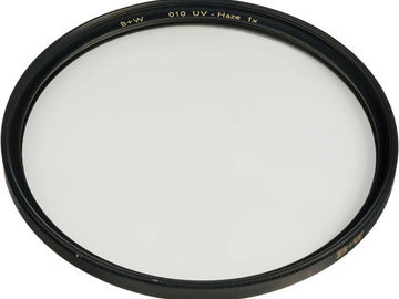 Rent: B+W 82mm UV Haze 010 Filter