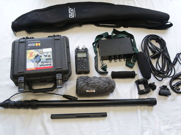 Audio Field interview kit 2 Channels