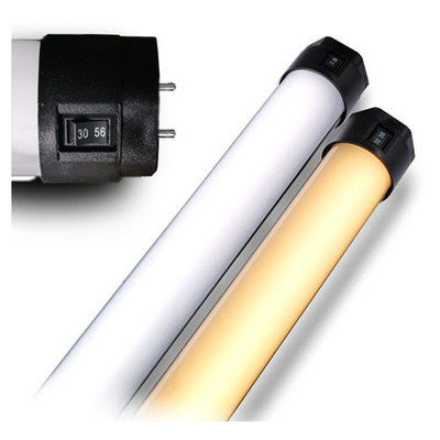 Four 4' Quasar Tubes (Tungsten/Daylight switchable)