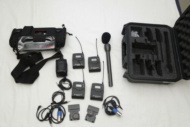 Audio Field interview kit 4 track recording
