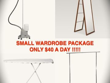 SMALL Wardrobe Package