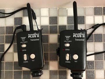 x2 PocketWizard Plus II
