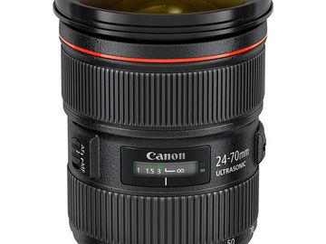 Rent: Canon EF 24-70mm F/2.8L USM ll (2 of 2)