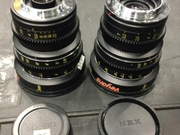 Rent: Veydra PICK 3 (5 lenses to choose from)