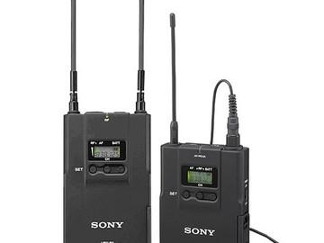 Rent: Sony UWP-V1 Wireless Radio Mic Kit