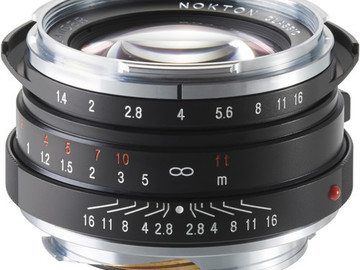 Rent: Voigtlander Nokton 40mm F1.4 M-Mount Lens w/ E-mount adapter