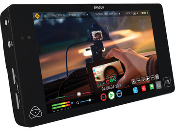 "Rent: Atomos Shogun 4K HDMI/12G-SDI Recorder and 7"" Monitor"