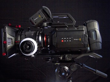 Rent: Blackmagic Design URSA Mini 4.6K Package w/Xeen Lenses