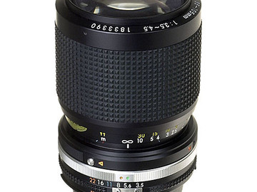 Rent: Nikon 35-105mm f/3.5-4.5 AIS manual lens w/ adapter