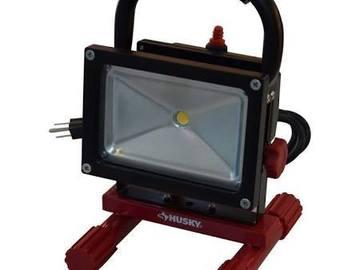 Rent: Husky LED work light w/ rapid baby