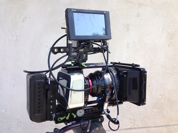 Blackmagic Production Camera 4K with Lenses and Rig