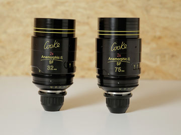 Rent: COOKE ANAMORPHIC SPECIAL FLARE | 2 LENS SET