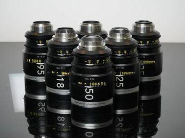 Rent: Schneider Cine-Xenar III 6 Lens Set - PL & EF Mounts + Case