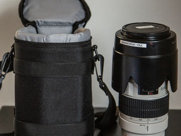 Rent: Canon EF 70-200mm f/2.8 L USM w/ Pouch