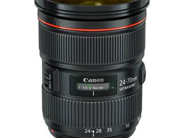Rent: Canon 24-70mm f2.8 II