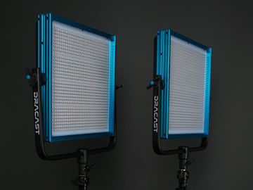 Rent: 2 Dracast LED1000 Pro Bi-Color LED [2-Light Kit] with Stands
