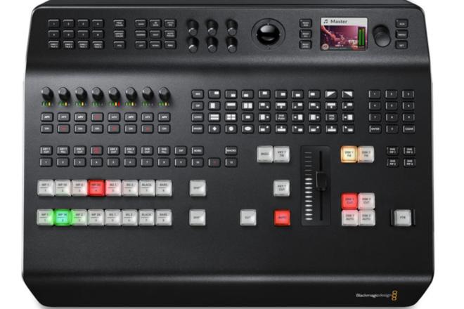 BMD ATEM Television Studio Pro 4K Live Production Switcher