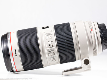 Rent: Canon 70-200mm IS f2.8 II