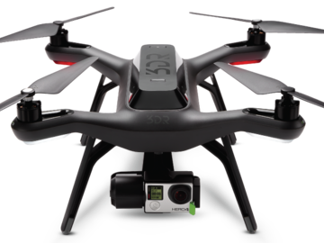 Rent: 3DR Solo with Gopro 4 black and gimbal