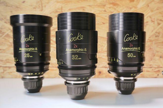 COOKE ANAMORPHIC | 3 Lens Set