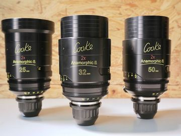 Rent: COOKE ANAMORPHIC | 3 Lens Set
