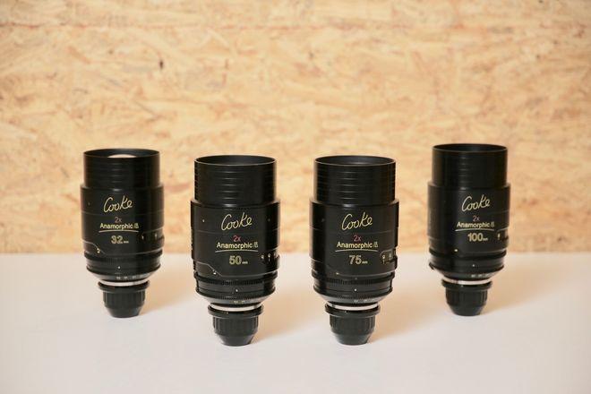 COOKE ANAMORPHIC | 4 Lens Set