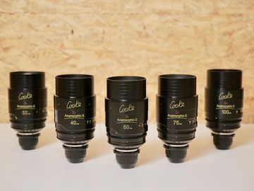 Rent: COOKE ANAMORPHIC | 5 Lens Set