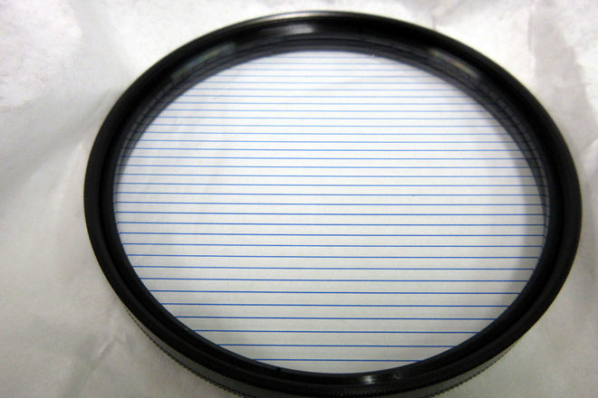 Schneider 82mm Self-Rotating 2mm Blue True-Streak Filter