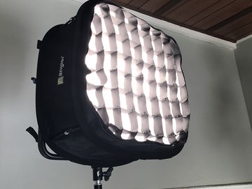 Rent: Dracast 1000 BiColor LED w/Stand, Softbox, Grid, Barndoors