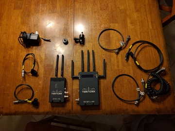Rent: Teradek Bolt Pro 600 TX + RX SDI ONLY